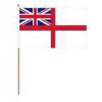 White Ensign Hand Flag - Large.